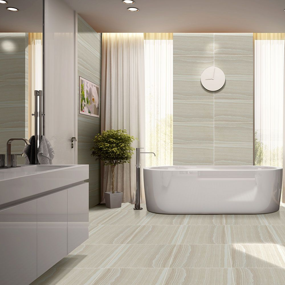 Tavrezh tiles transform your bathroom into a Modern bathroom tile images