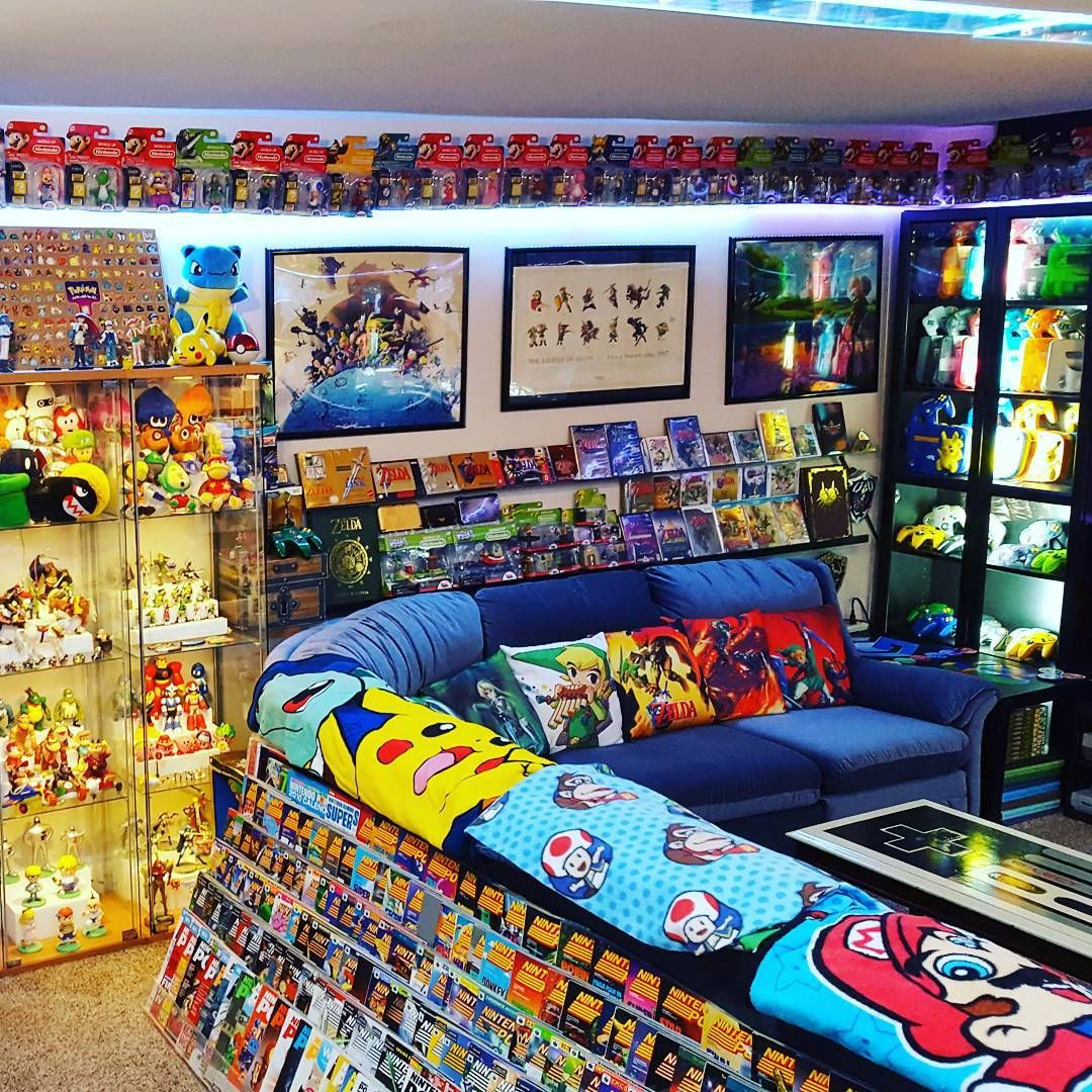 A Imagem Pode Conter 1 Pessoa Gamer Room Diy Game Room Decor Video Game Rooms