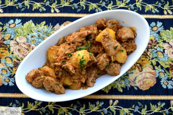 Parsi Chicken Bafat, a Good Ole Home-cooked Family Meal / Peri's Spice Ladle
