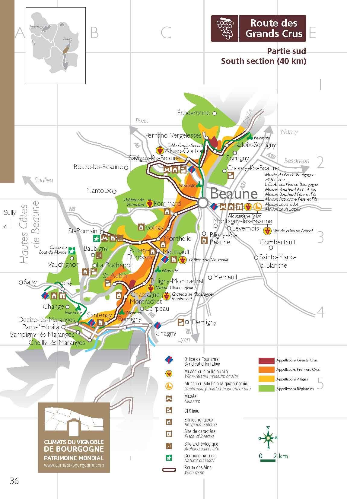 La Grande Route Des Vins Discover The Wines Of Bourgogne Through