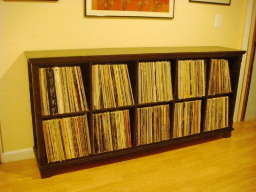 Analog Apartment   A Place For People Who Love Records   Record Shelf From  Ikea.