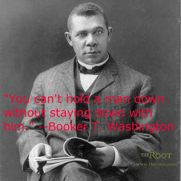 Famous African American Quotes: Best Black History Quotes: Booker T. Washington On