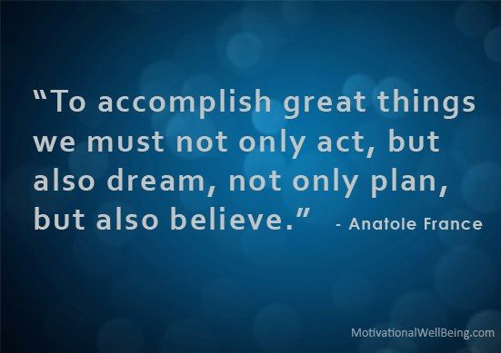 Are You Trying To Accomplish Big Things?
