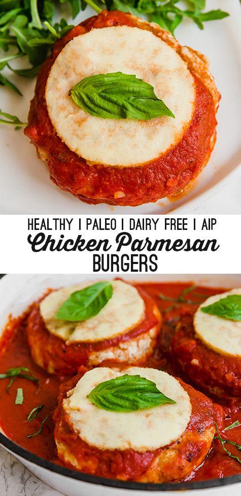 Chicken Parmesan Burger #chickenparmesan