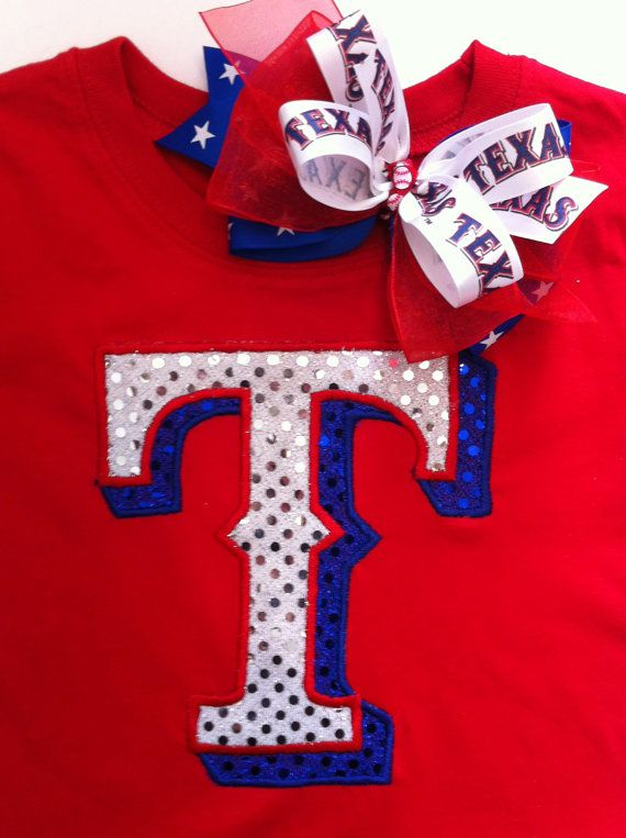 Infant Toddler Well Check Schedule Texas Ranges Shirt Bow Set By Christimaher On Etsy 28 00