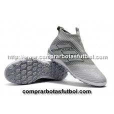 size 40 a4778 006c5 Botas De Futbol Adidas Niños ACE Tango 17+ Purecontrol TF Plateado Negro Web