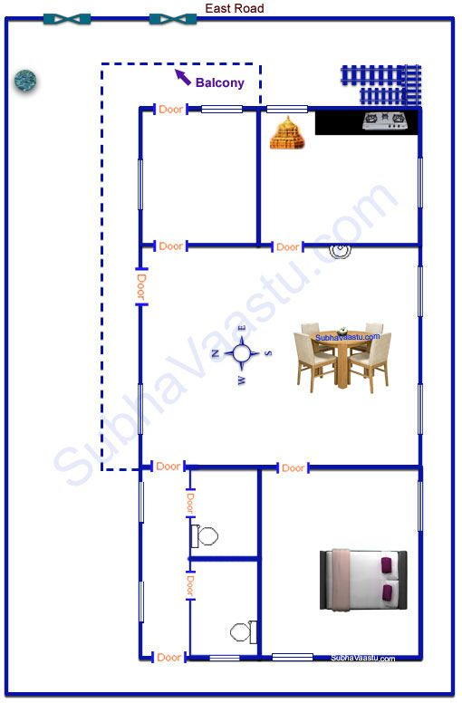 East Facing House Plan Vastu House House Plans My House Plans