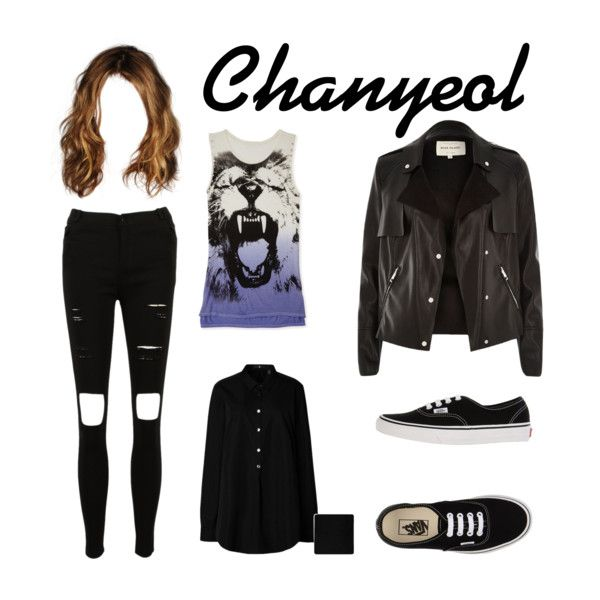 Chanyeol from EXO K Call me baby MV inspired by look http://mynotebookofstyle.com/inspired-by-looks/exo-call-me-baby-mv-inspired-by-looks/