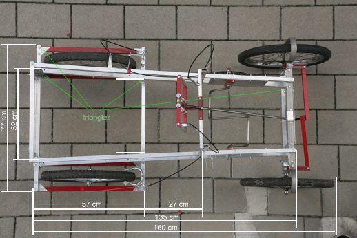 Gratis planer på göra det själv 4 hjul cykel trampbil