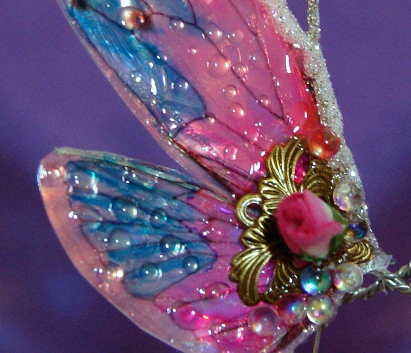 PORCELANA FRIA Trynys design: Como hacer alas de  mariposas para Hadas
