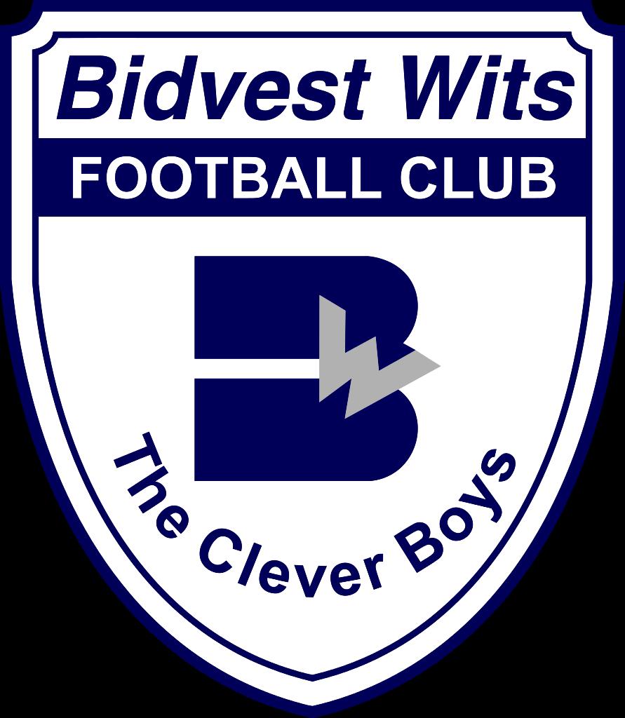 Bidvest Wits of Johannesburg, South Africa crest. Sepak bola
