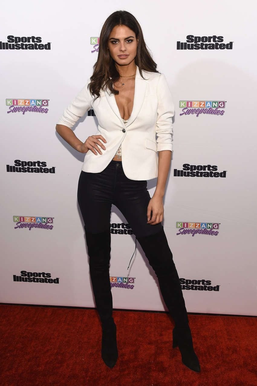 3ffd0d140642 Bo Krsmanovic – Sports Illustrated and KIZZANG Bracket Challenge Party in  NYC on March 14