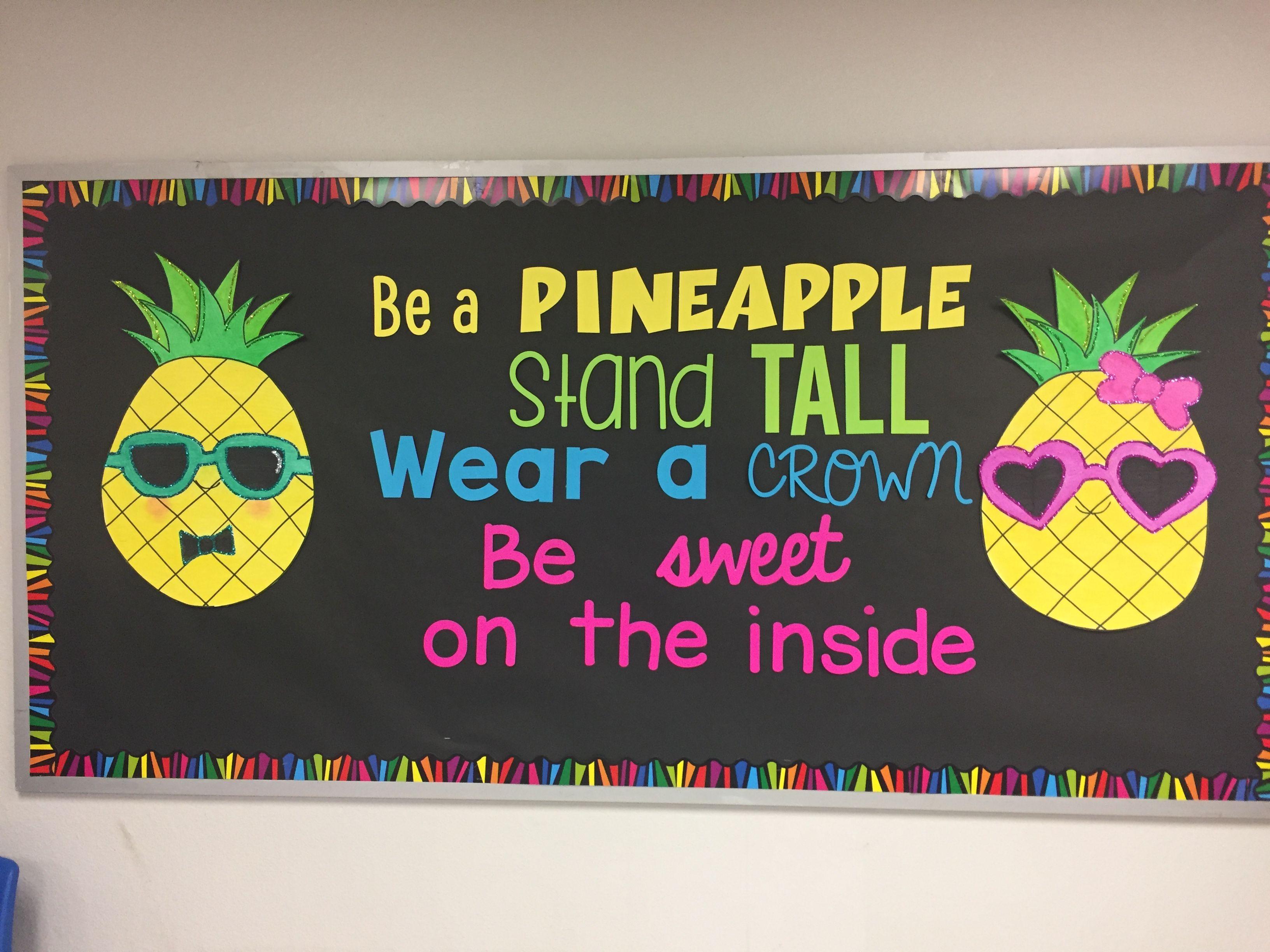 Pineapple Bulletin Board Ideas