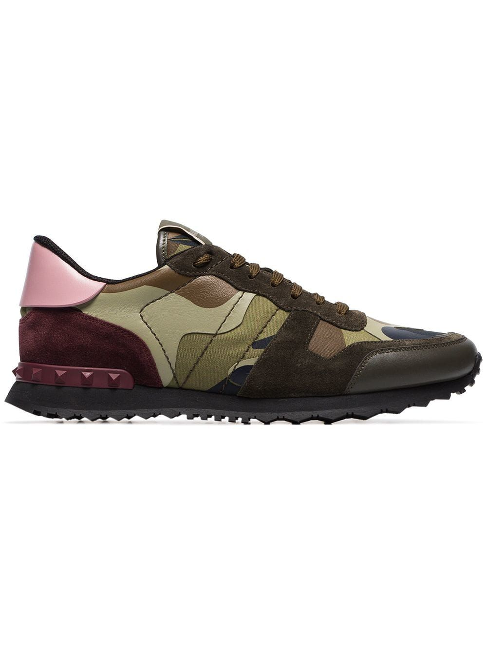 d95029e1966ef VALENTINO VALENTINO VALENTINO GARAVANI ROCKRUNNER SNEAKERS - GREEN. # valentino #shoes