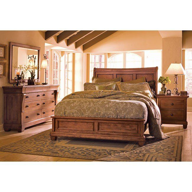 Tuscano Low Profile Bedroom Set In 2019