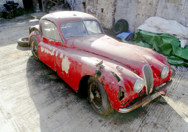 1954 Jaguar XK120 Coupé