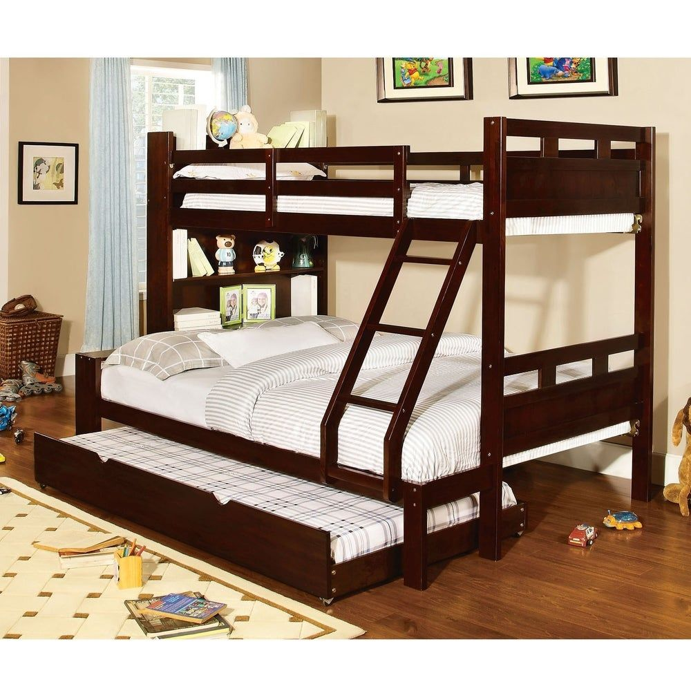Kids Toddler Beds Bunk Bed With Trundle Solid Wood Bunk Beds Kids Bunk Beds