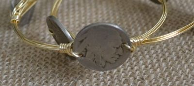 Miss Hen Seminole Coin Bangle $28 www.blushberrycouture.com
