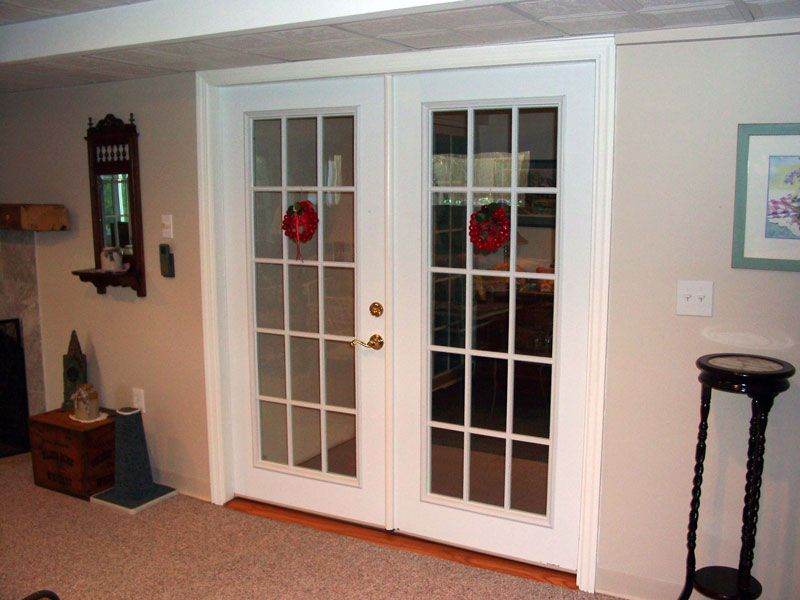 how to install french doors in an interior wall