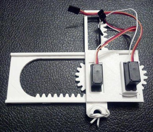 Create Drawing Robot With 6 Plastic 3d Printed Parts 2