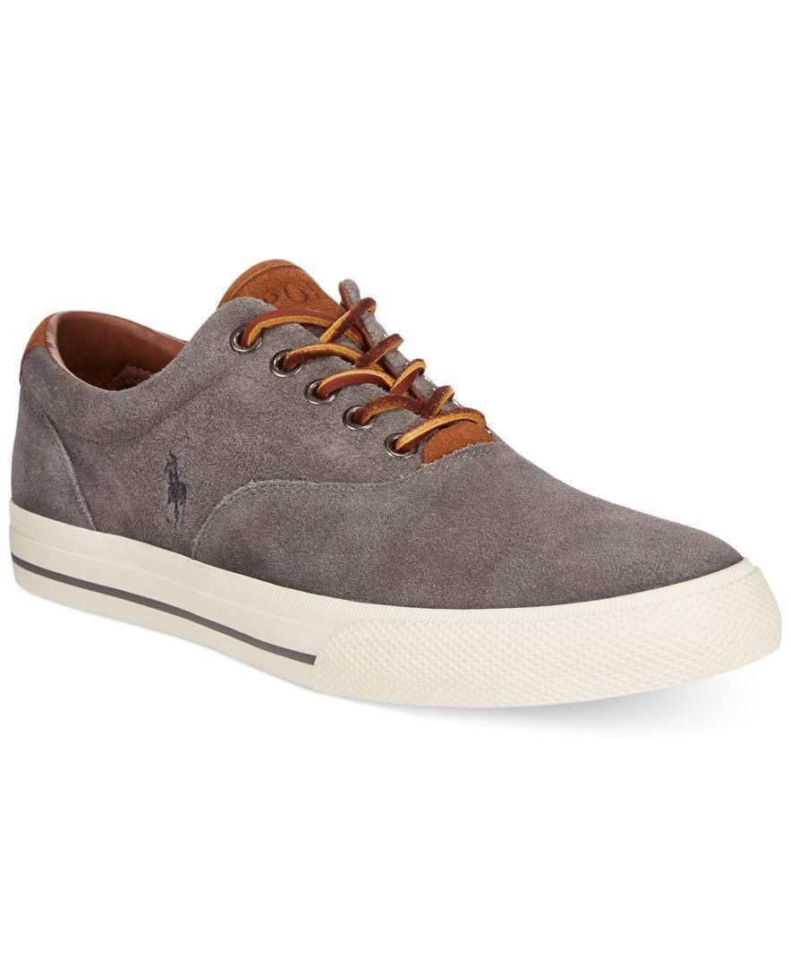 0ea91567f1aab Polo Ralph Lauren Vaughn Suede Sneakers