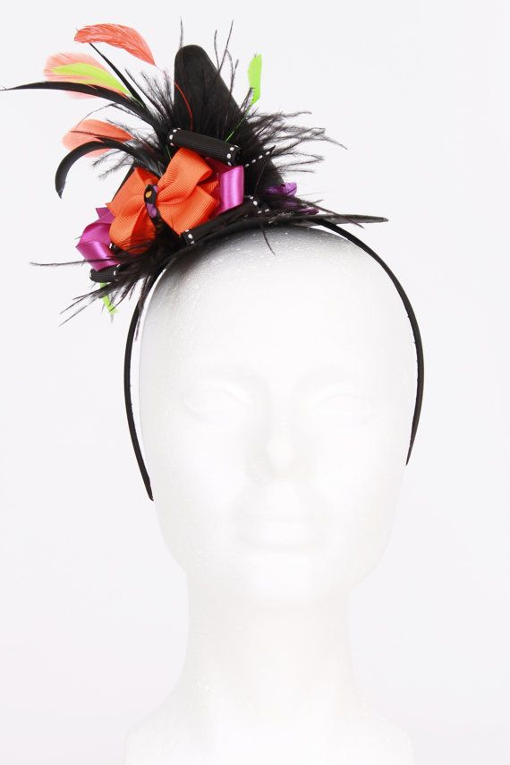 044b9a1e481 READY TO SHIP  Spunky Spellbinder Mini Witch Hat Headband ...