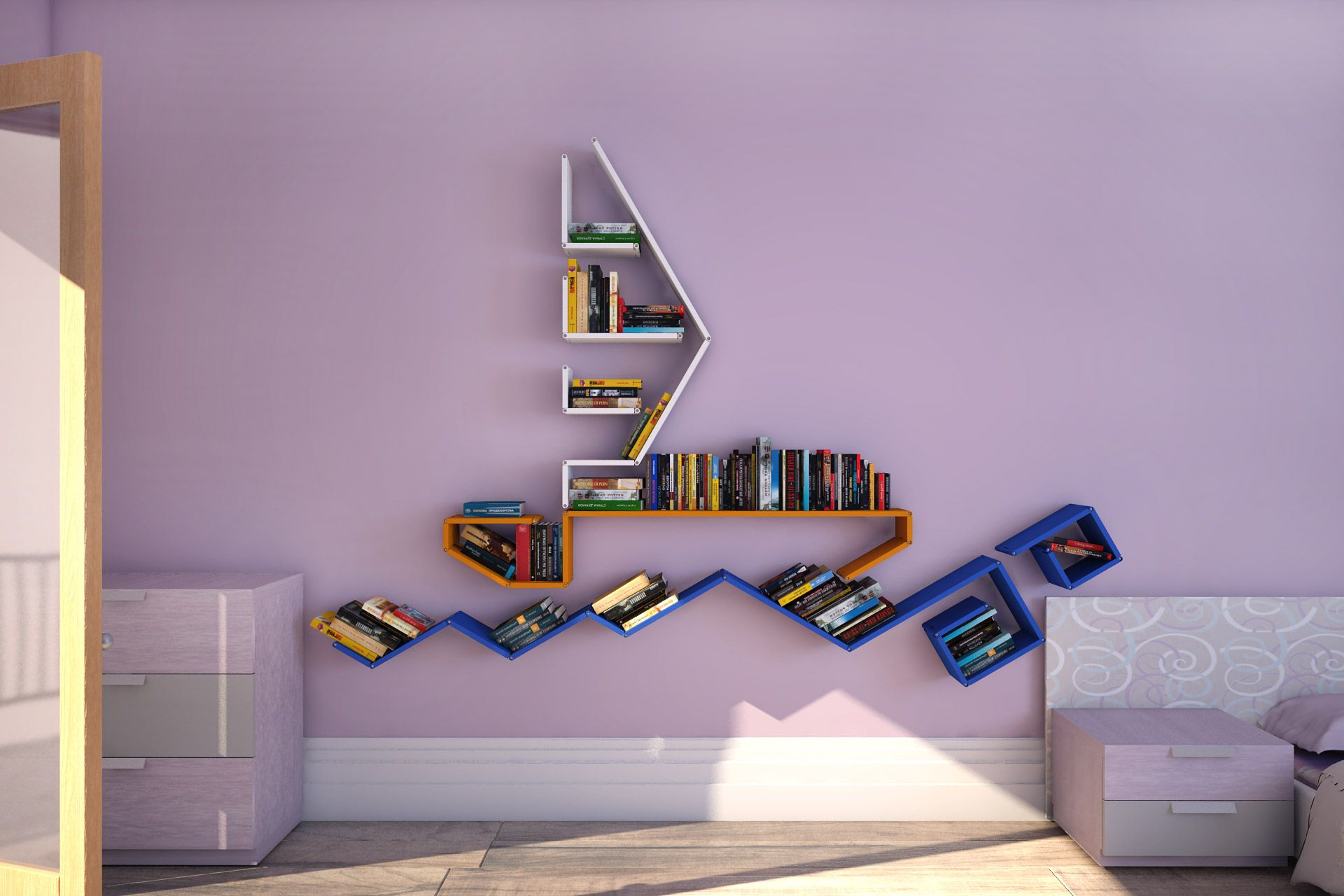 Полки на стену фото подборка идей