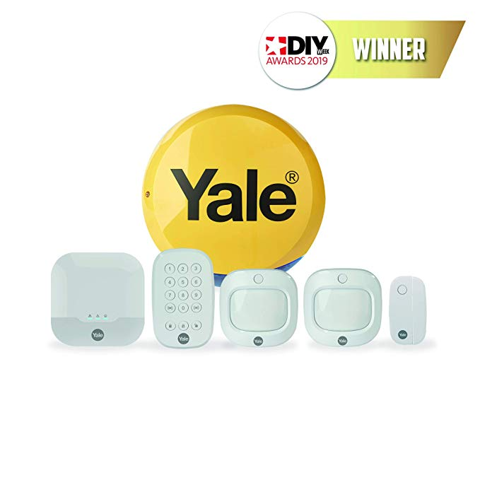 Yale Ia 320 Sync Smart Home Alarm Family Kit Works With Alexa