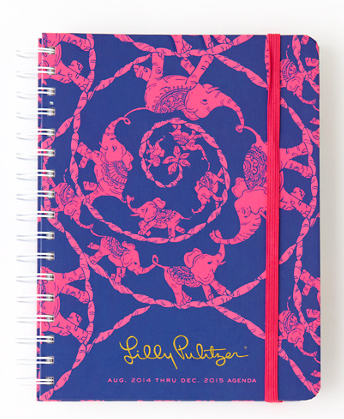 2014-2015 Agenda - Loopy Lilly - LARGE