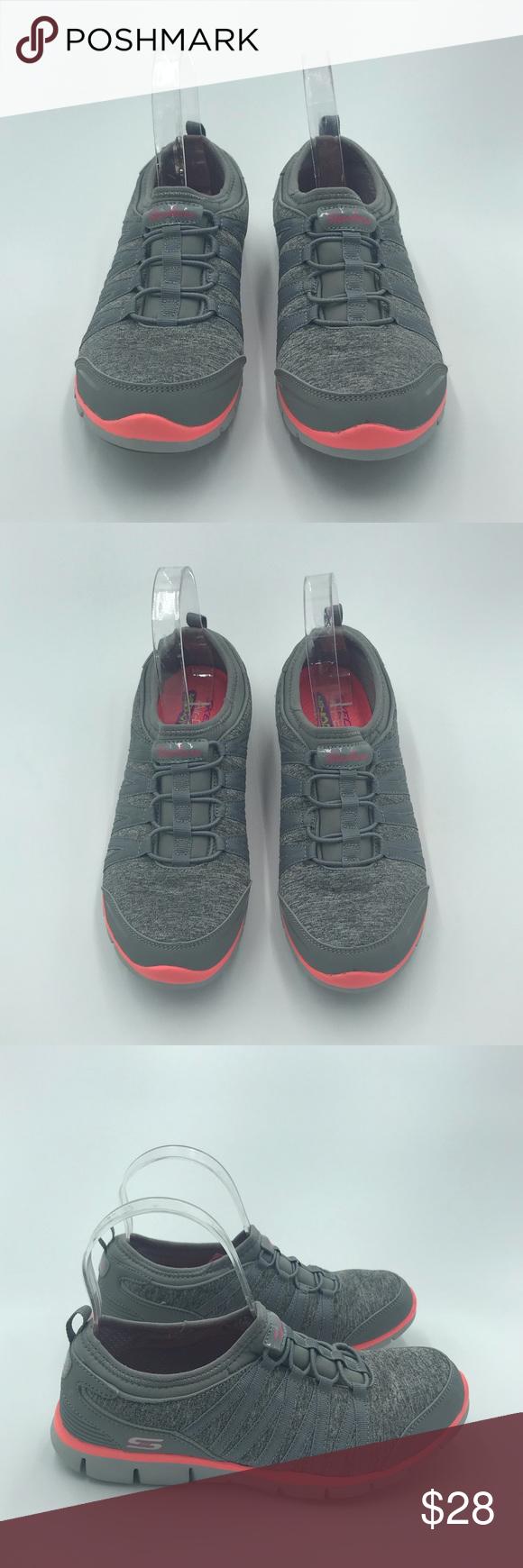 Skechers Air-Cooled Memory Foam Slip-On