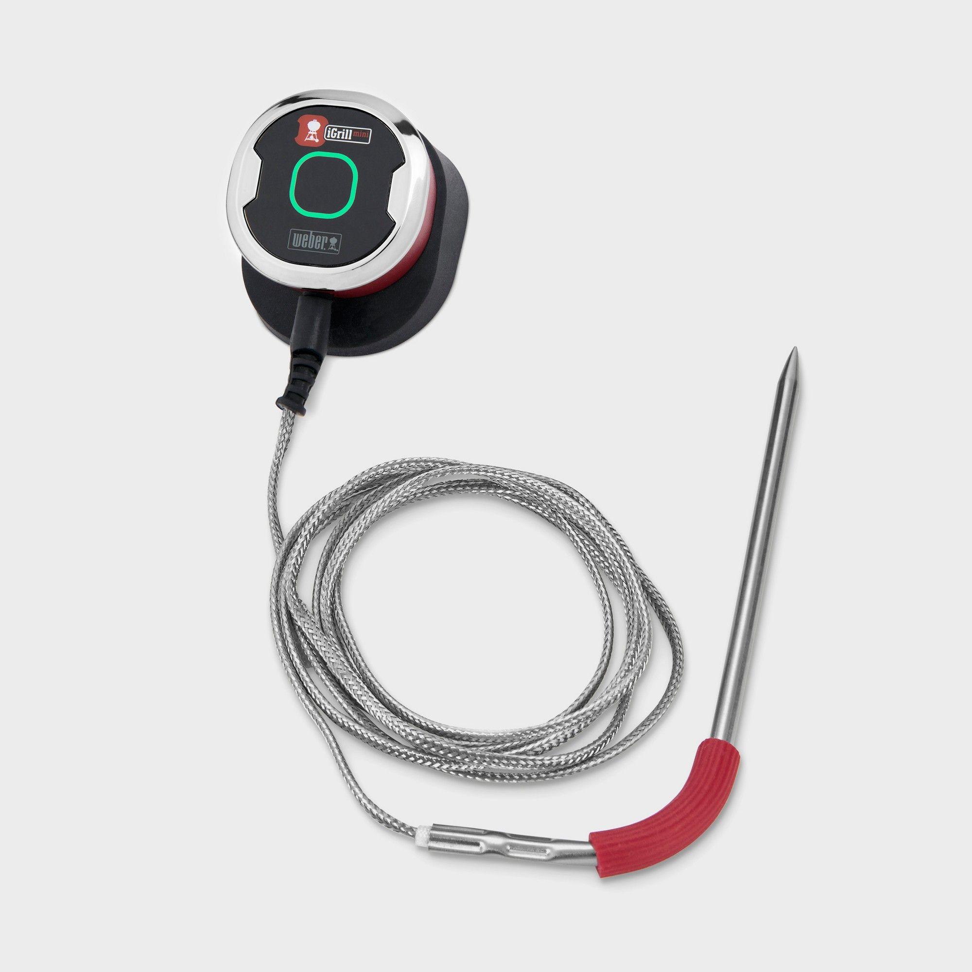 Weber iGrill Mini Digital Bluetooth Thermometer, Black