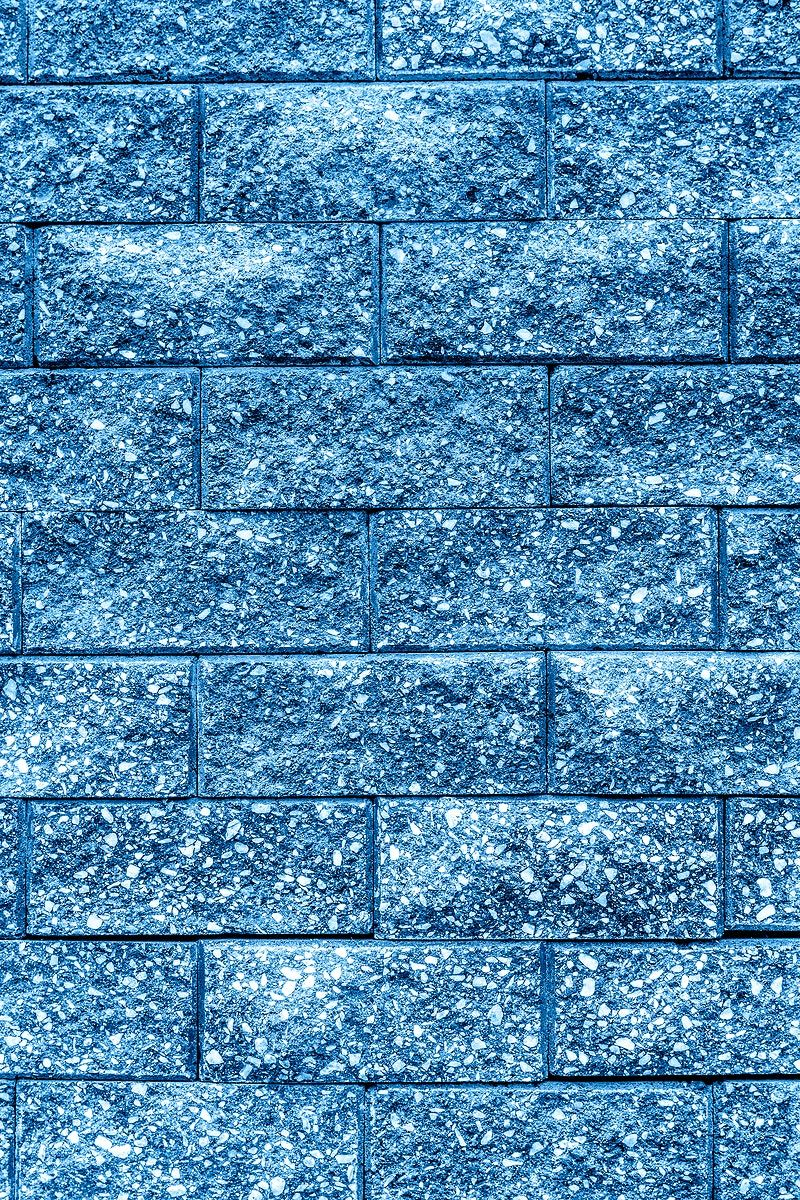 Light blue brick textured Background free image by
