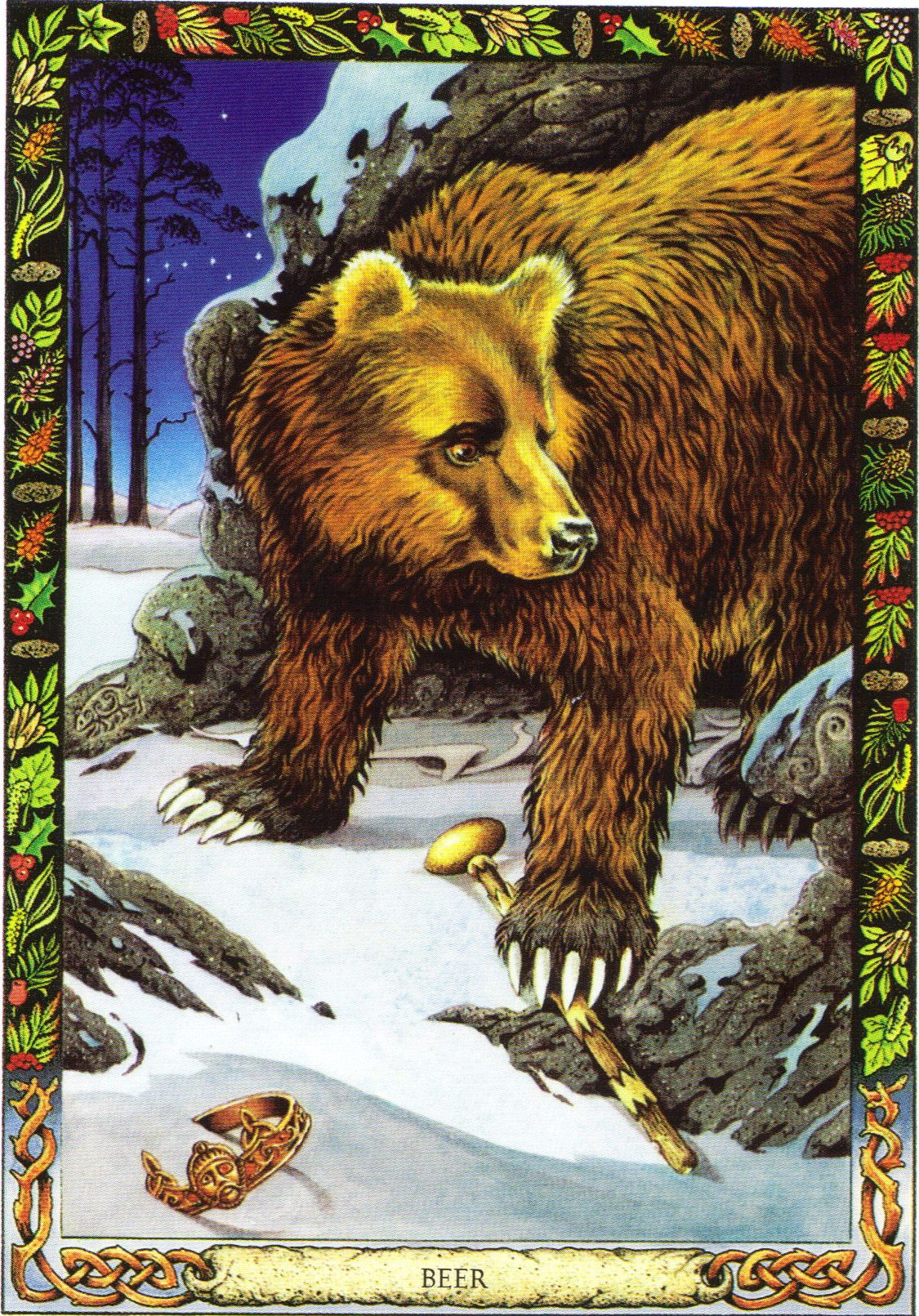 Bear the druid animal oracle by stephanie and phillip carr bear the druid animal oracle by stephanie and phillip carr meaning primal power buycottarizona Image collections