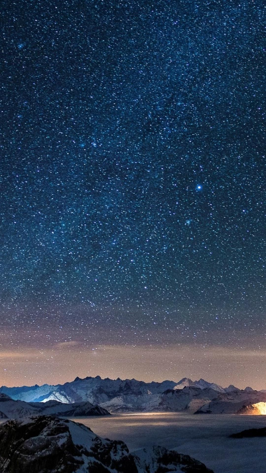 Beautiful Starry Sky Iphone Wallpaper In 2019 Iphone