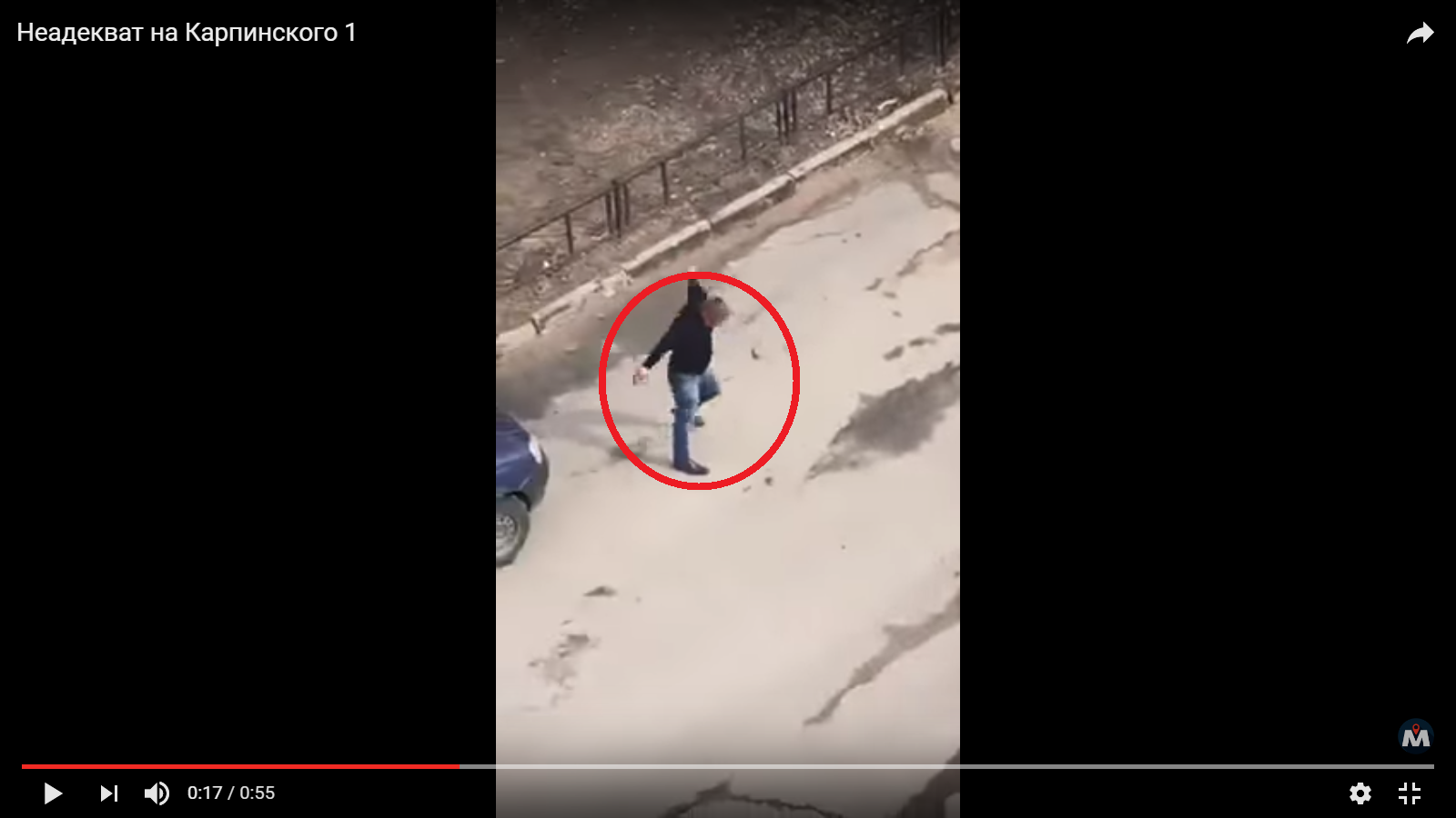 Появилось видео танца неадекватного водителя, который чудом не сбил женщину с ребенком http://kleinburd.ru/news/poyavilos-video-tanca-neadekvatnogo-voditelya-kotoryj-chudom-ne-sbil-zhenshhinu-s-rebenkom/