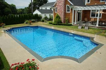 """20' x 40' Gothic Swimming Pool Kit with 42"""" Steel Walls"""