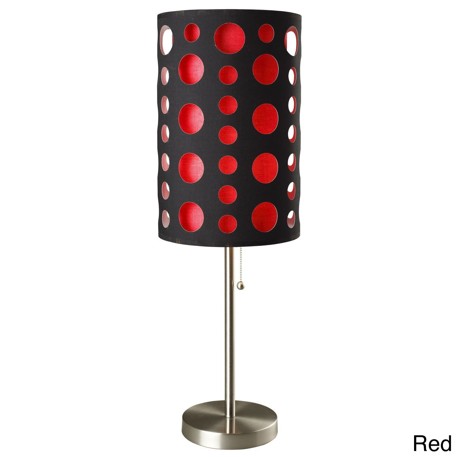 Black 33 inch modern retro table lamp by ore international retro this contemporary and stylish table lamp will brighten up your room while adding a touch of geotapseo Image collections