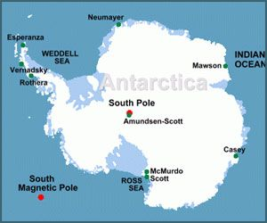 Map of Antarctica For the Kids Pinterest Antarctica and