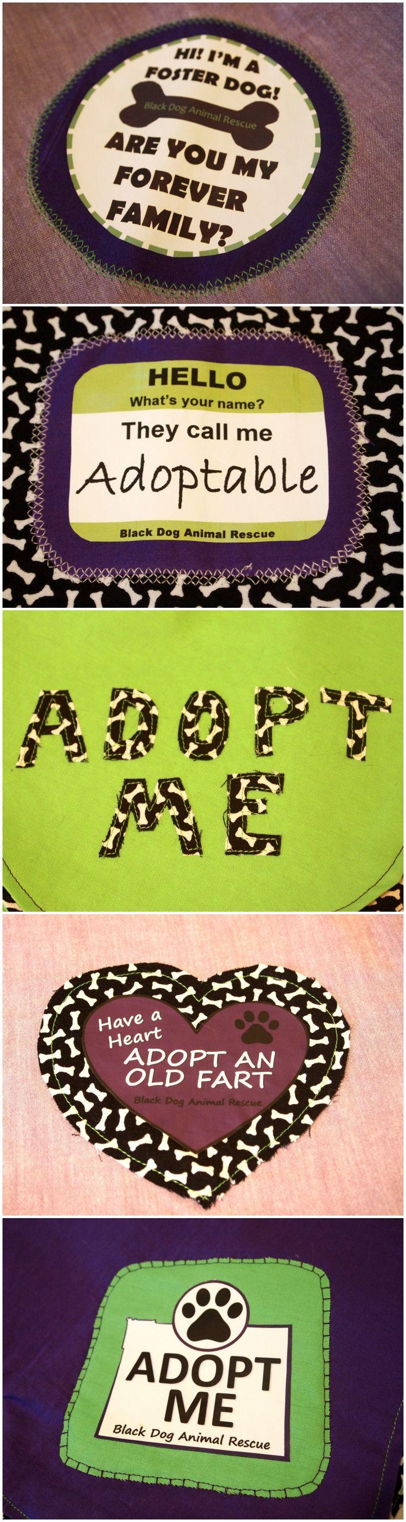"""""""Adopt Me"""" Vests: Round Two #animalrescue"""