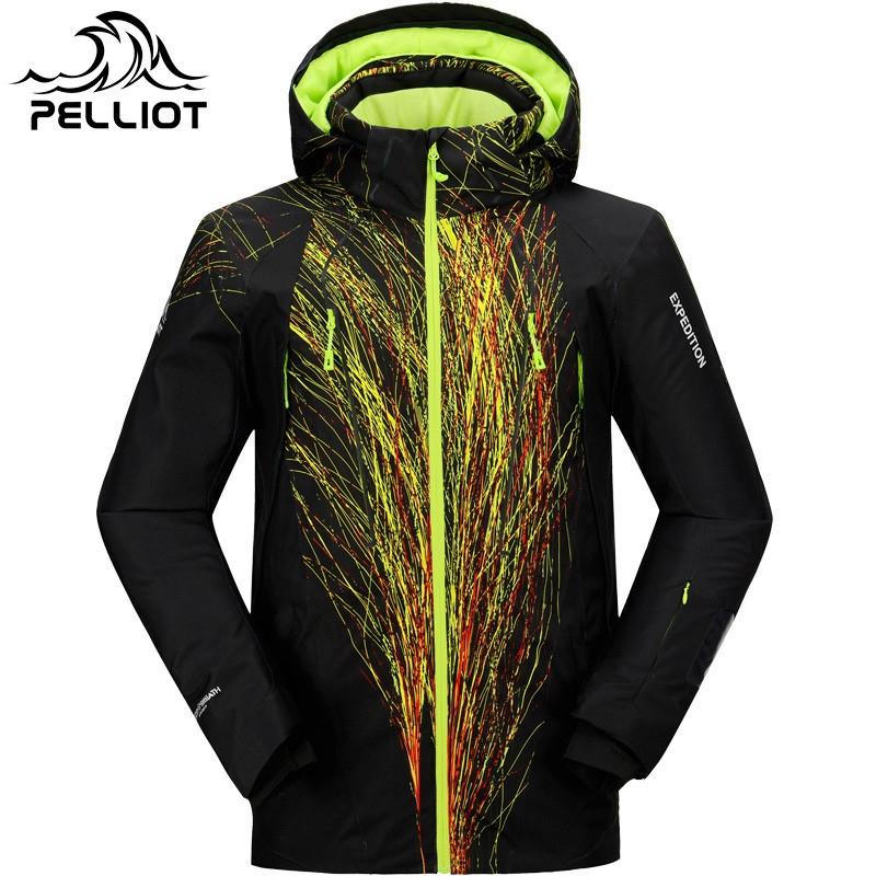 99.00$  Watch now - http://ali2c6.worldwells.pw/go.php?t=32756121129 - 2016 Brand Snowboard Jacket Men SKi Jacket waterproof super warm winter jacket for -30 degree skiing snowboarding snow coat male