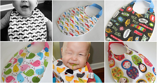6ba0a6f26277a Laminated Cotton Baby Bibs! | Baby Items | Baby bibs, Baby, Baby items