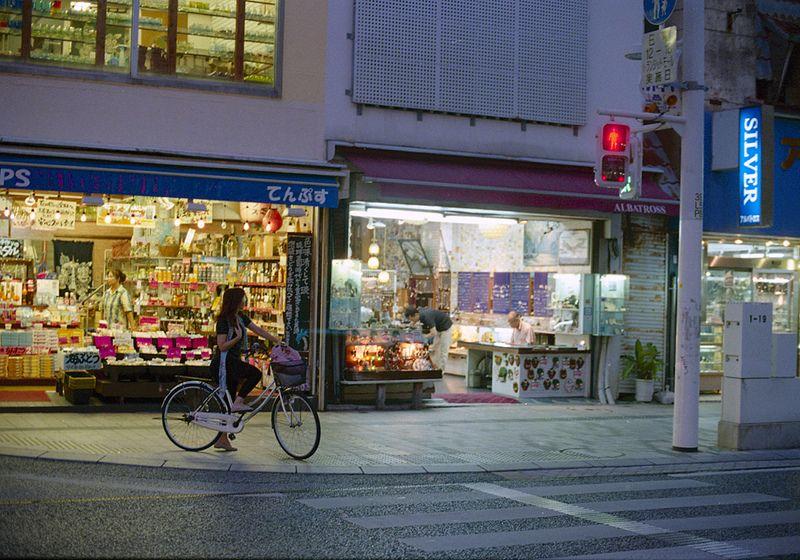 国際通り 信号を待つひと Naha-si, Okinawa