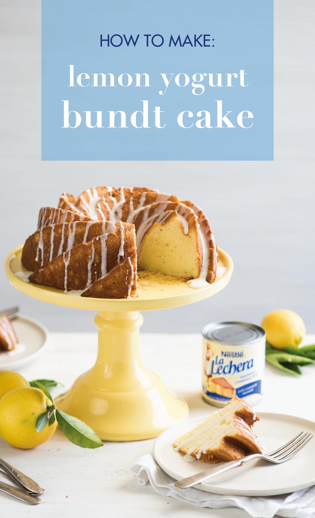 Photo of Lemon Yogurt Bundt Cake