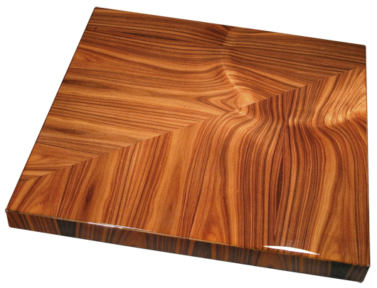 Contemporary Rosewood Veneer Table