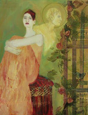 """Angel Of God""  Donna Holdsworth Contemporary Art"