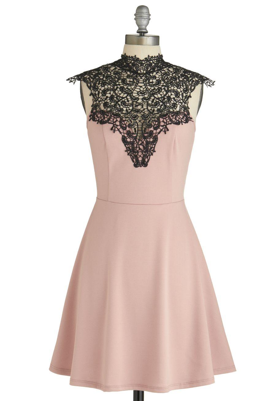 5 Knee Length Dresses to Sport at Prom!   Mauve dress, Mauve and ...
