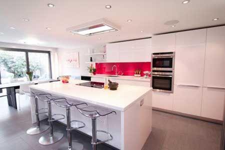 55 cocinas modernas. Estilo y diseño entre fogones. | Cocina moderna ...