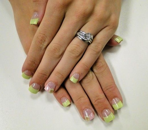 Spring Gel Nail Designs Cute Spring Nail Design Mybeautypage