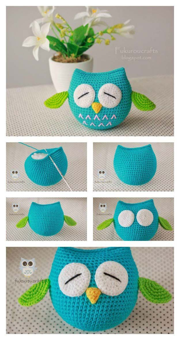 45 Fun And Easy Crochet Projects Crafts Pinterest Crochet