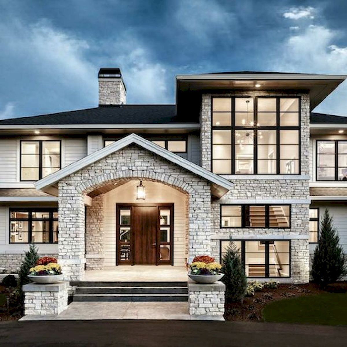 60 Most Popular Modern Dream House Exterior Design Ideas Dream Exterior Modern Popular Most Ideaboz In 2020 House Designs Exterior House Styles House Exterior